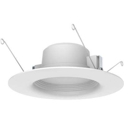 Recessed lighting lighting the home depot 5 in and 6 in white integrated led recessed trim 3 pack aloadofball Gallery