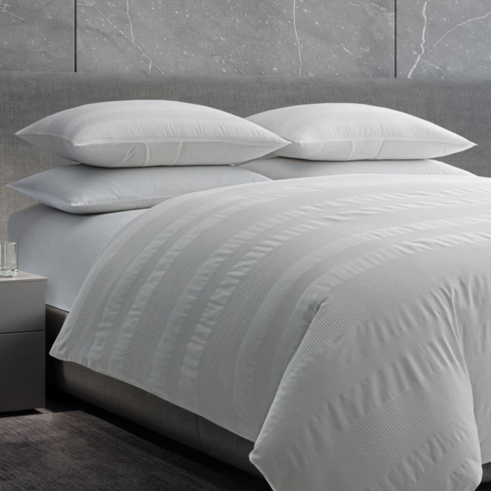 Waffle Stripe Woven Comforter Set
