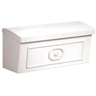 4500 Series White Surface-Mounted Townhouse Mailbox