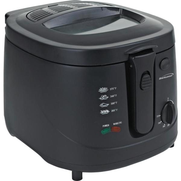 Brentwood 2.6 Qt. Electric Deep Fryer DF725