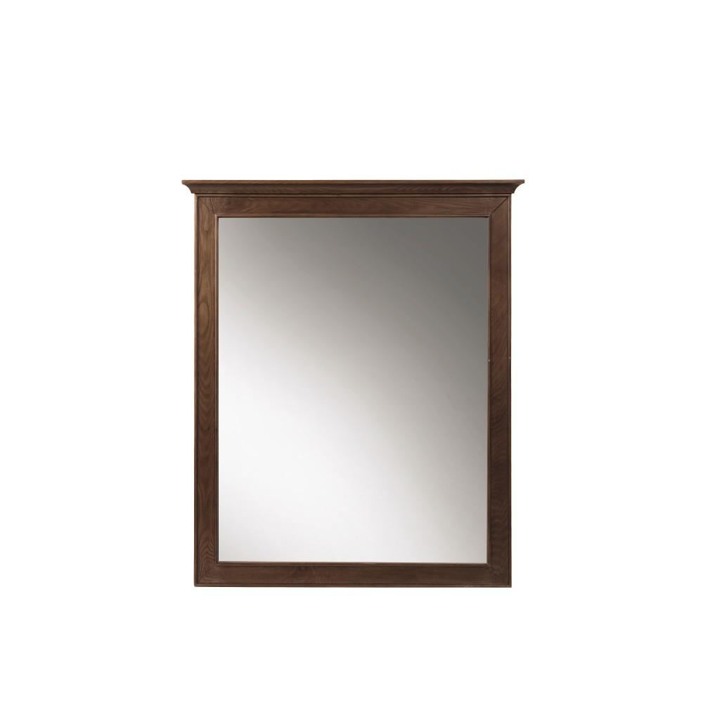 Clinton 28 in. W x 33 in. H Framed Wall Mirror