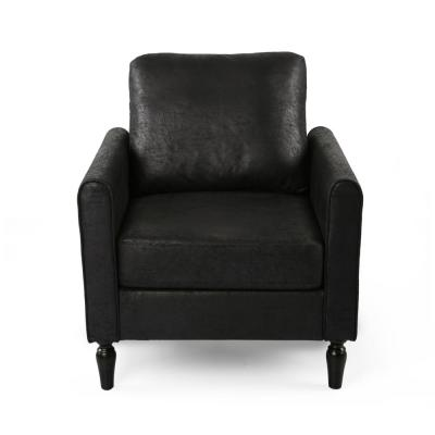 Blithewood Black Upholstered Club Chair