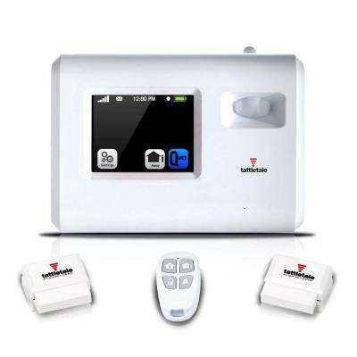 Wireless Portable Alarm System Security Device Kit