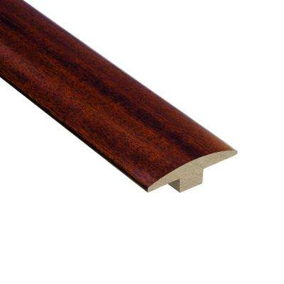 Brazilian Cherry 3/8 in. Thick x 2 in. Wide x 78 in. Length Hardwood T-Molding