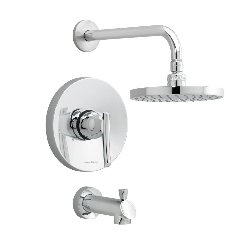 American Standard Green Tea 1-Handle Tub and Shower Faucet Trim Kit ...