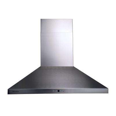 36 in. Chimney Style Range Hood in Stainless Steel
