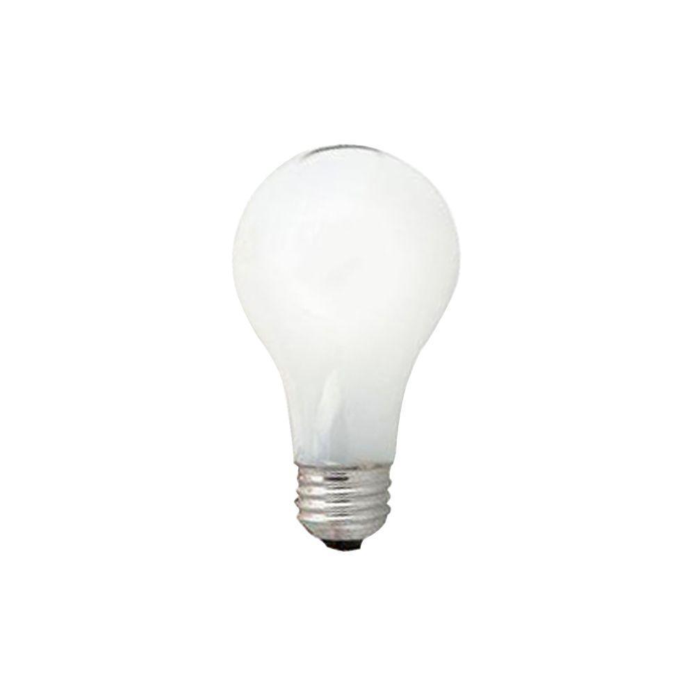 Sylvania 60 Watt Incandescent A19 Standard Coat Light Bulb 24 Pack 10489 0 The Home Depot