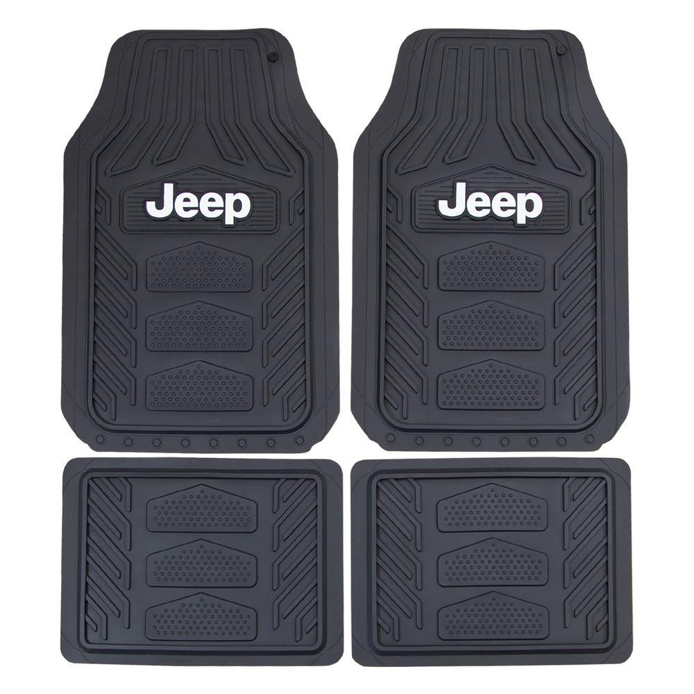 Plasticolor Jeep Weatherpro 4 Piece Set