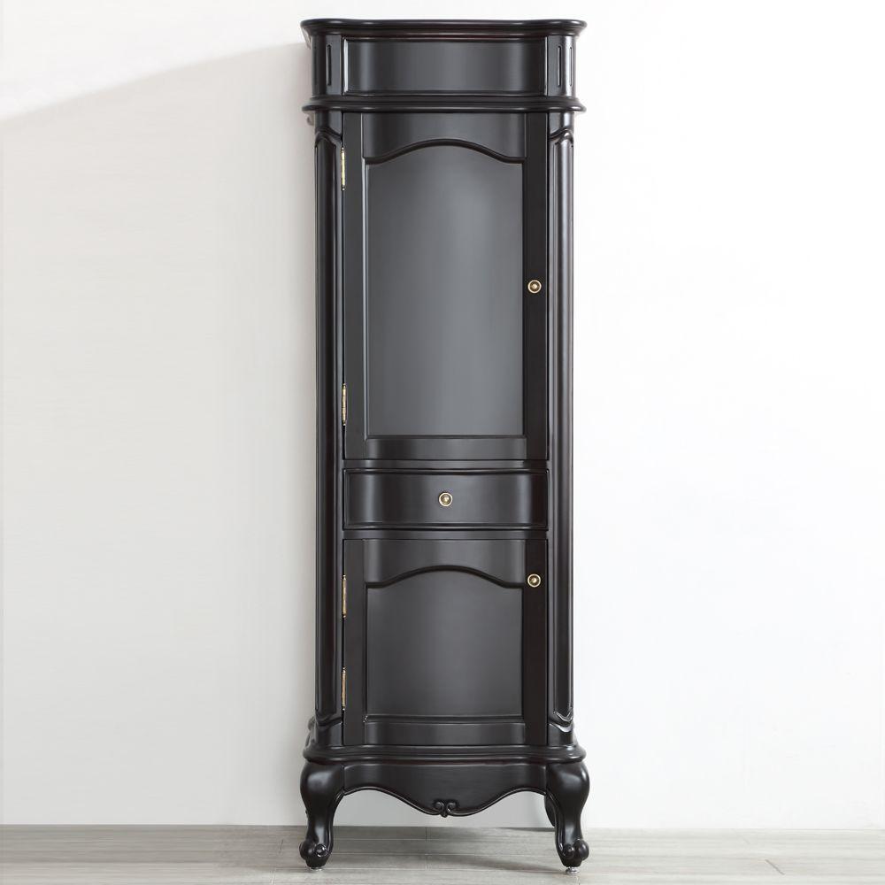 Vinnova Messina 16 In W X 69 In H X 23 In D 2 Door Bathroom Linen Storage Floor Cabinet In