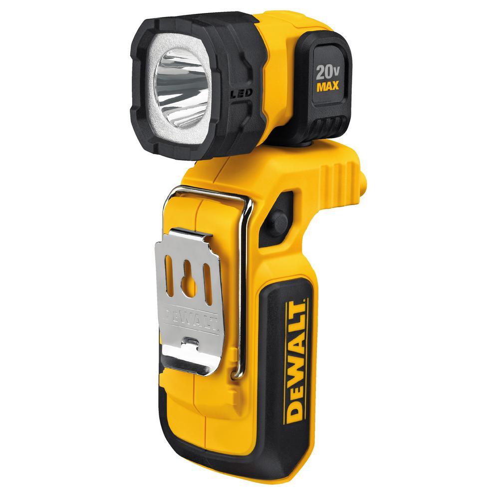 Click here to buy Dewalt 20-Volt MAX Cordless LED Worklight by DEWALT.