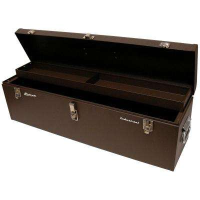 Professional Industrial 32 in. 0-Drawer Toolbox in Brown Wrinkle