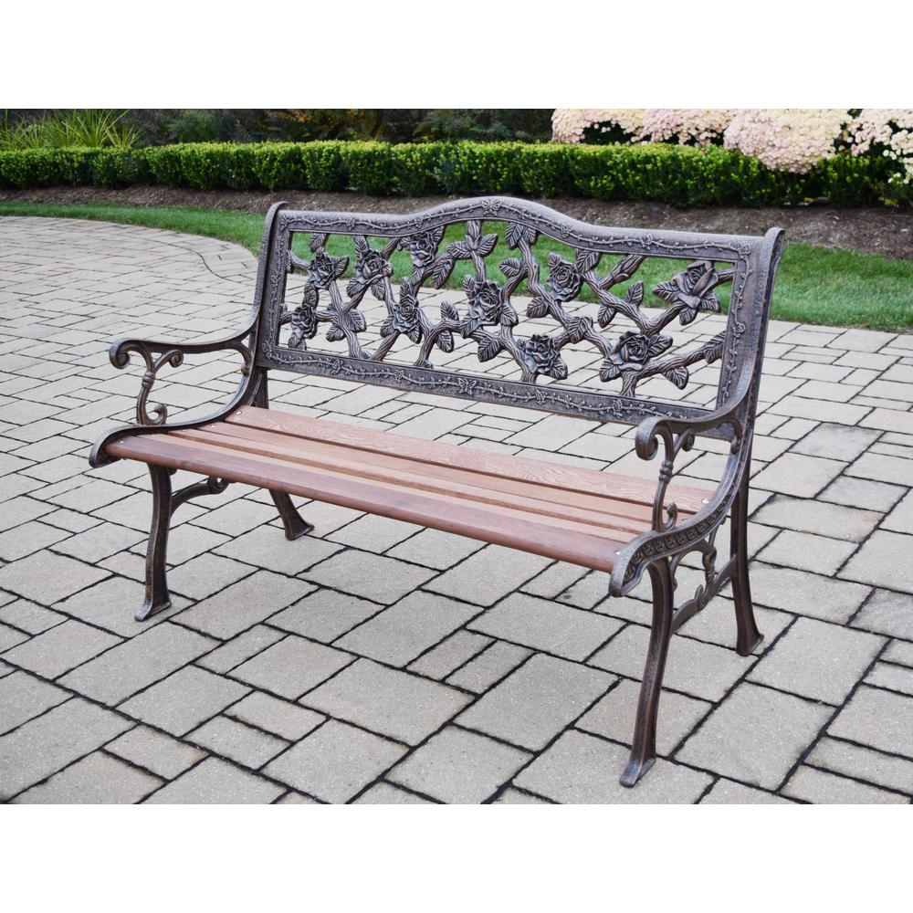 today overstock inches outdoor safavieh free shipping white abner bench garden benches iron home living wrought product