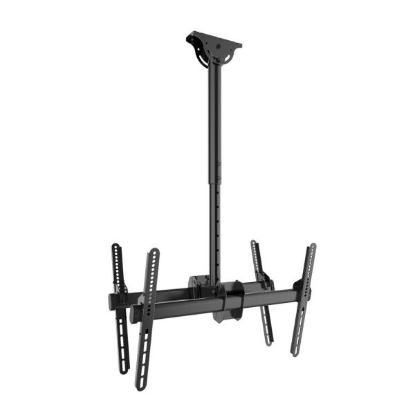 Large Double-Sided Ceiling Mount TVs 37 in. - 80 in. up to 99 lbs. each
