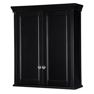 Home Decorators Collection Haven 24 3/4 In. W Bathroom Storage Wall Cabinet  In Classic Espresso TREW2428   The Home Depot