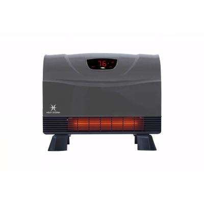 1,500-Watt Gray Deluxe Indoor Floor to Wall Infrared Heater
