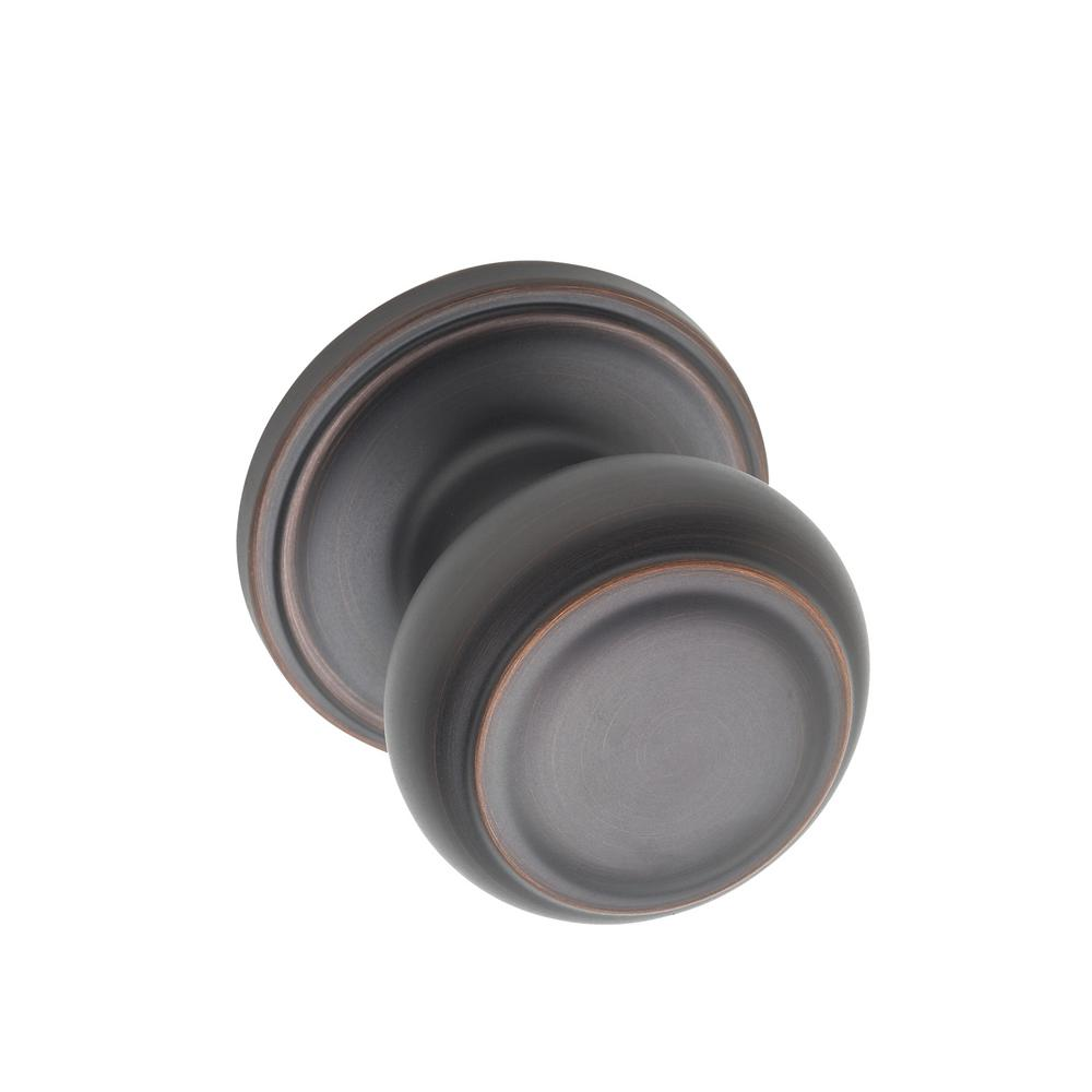 Colonial Tuscan Bronze Dummy Knob