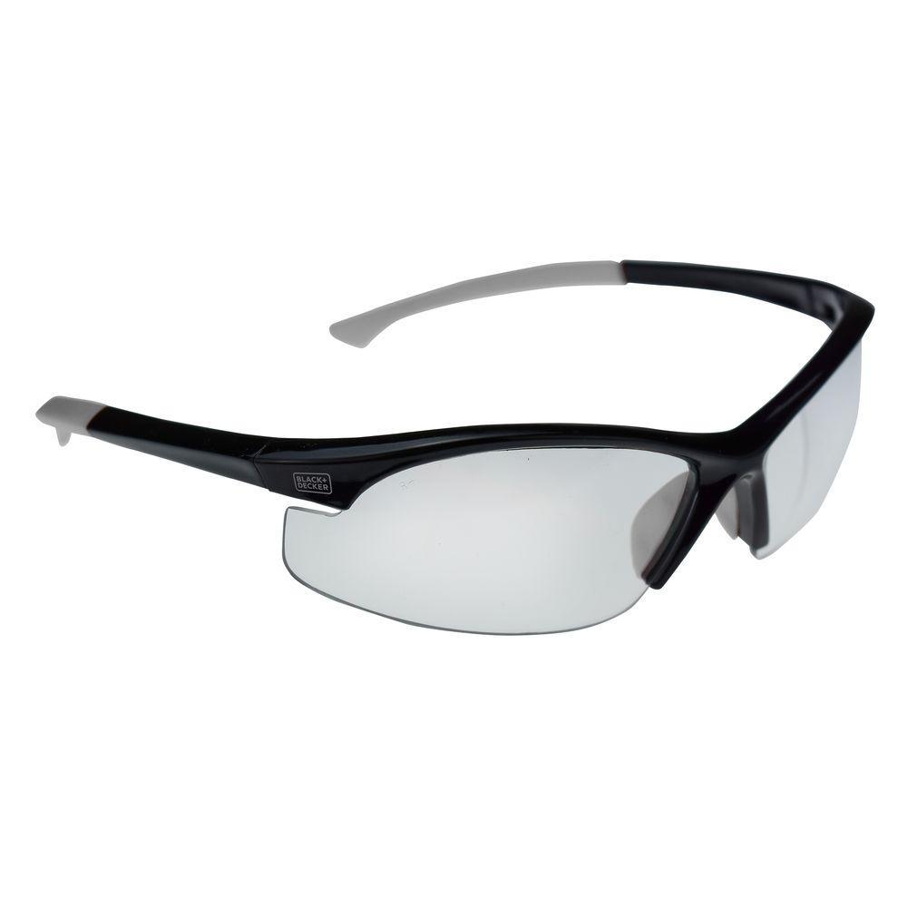 Flex Tip, Slim Frame Safety Glasses with Clear Lens