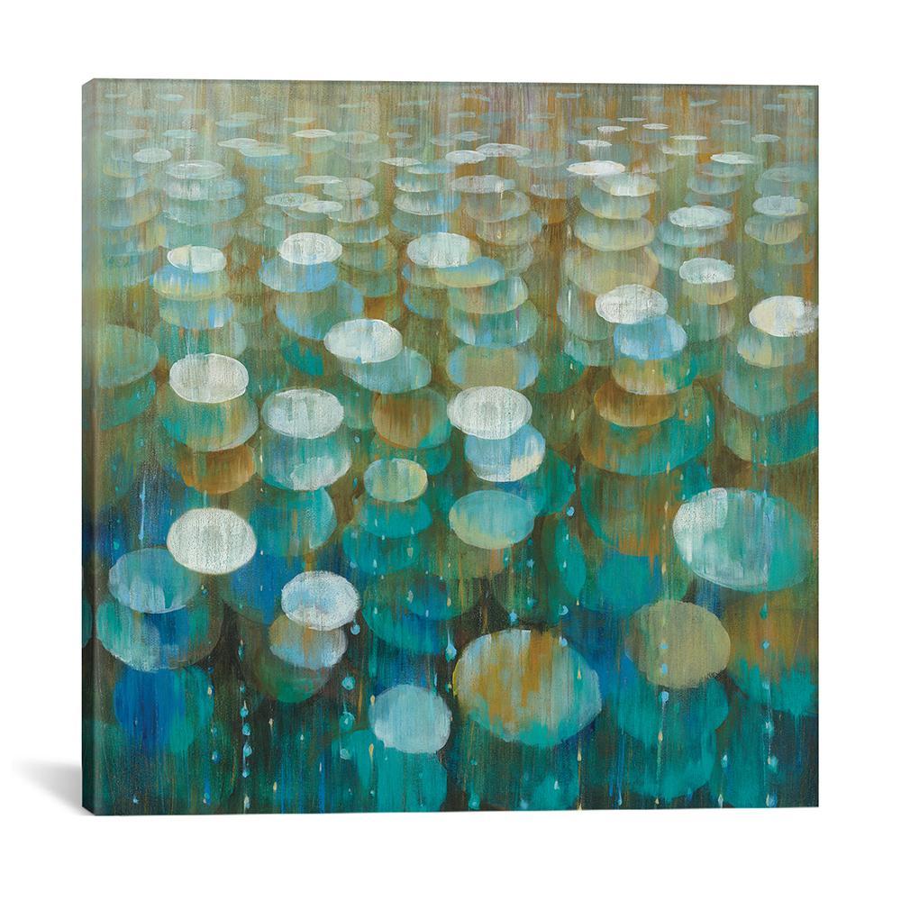 """Rain Drops"" by Danhui Nai Canvas Wall Art"