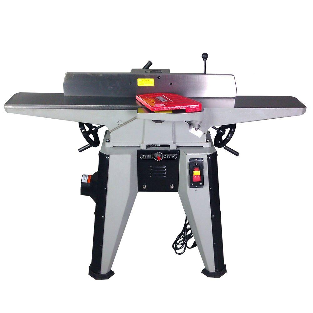 Steel City 6 in. Cast Iron Jointer