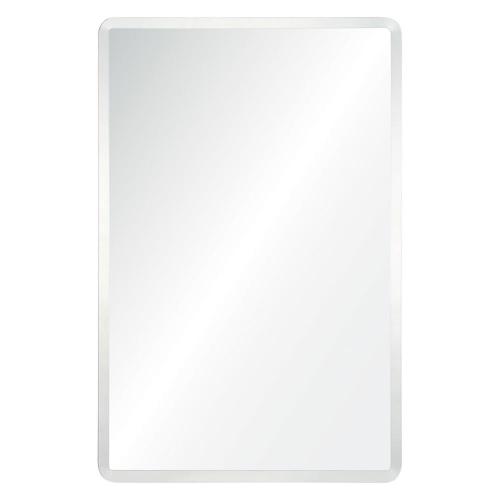 H X 24 In W Unframed Mirror