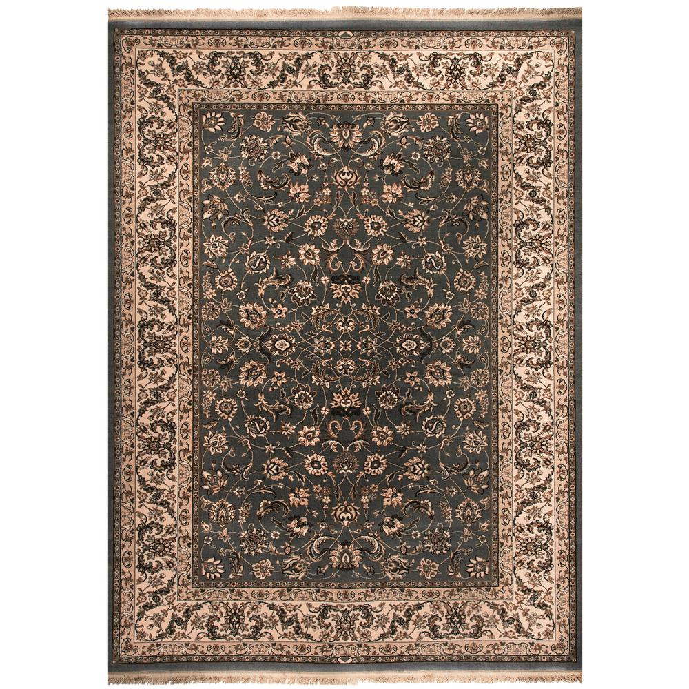 Dynamic Rugs Brilliant Blue 2 ft. 2 in. x 4 ft. 3 in. Indoor Area Rug