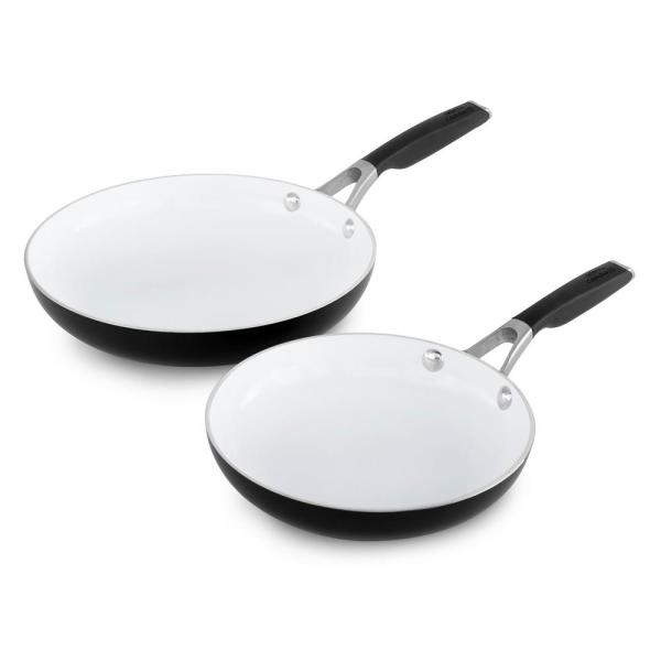 Calphalon Select 8 in  and 10 in  Ceramic Nonstick Fry Pan