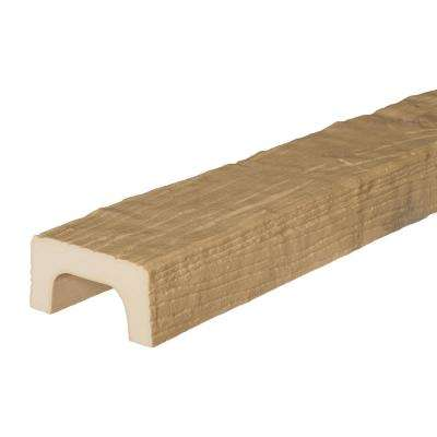 4-3/8 in. x 2-1/4 in. x 13 ft. Unfinished Modern Faux Wood Beam