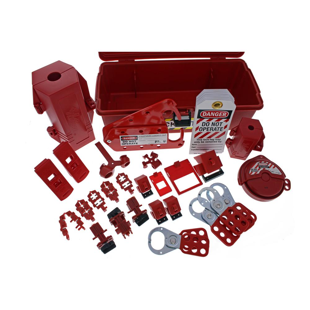 ideal plant facility lockouttagout kit - Lock Out Tag Out Kits