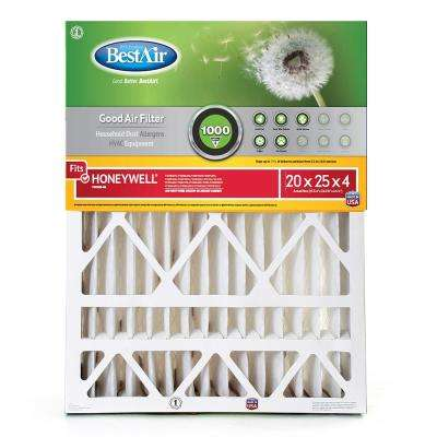 20 in. x 25 in. x 4 in. Honeywell FPR 4 Air Cleaner Filter