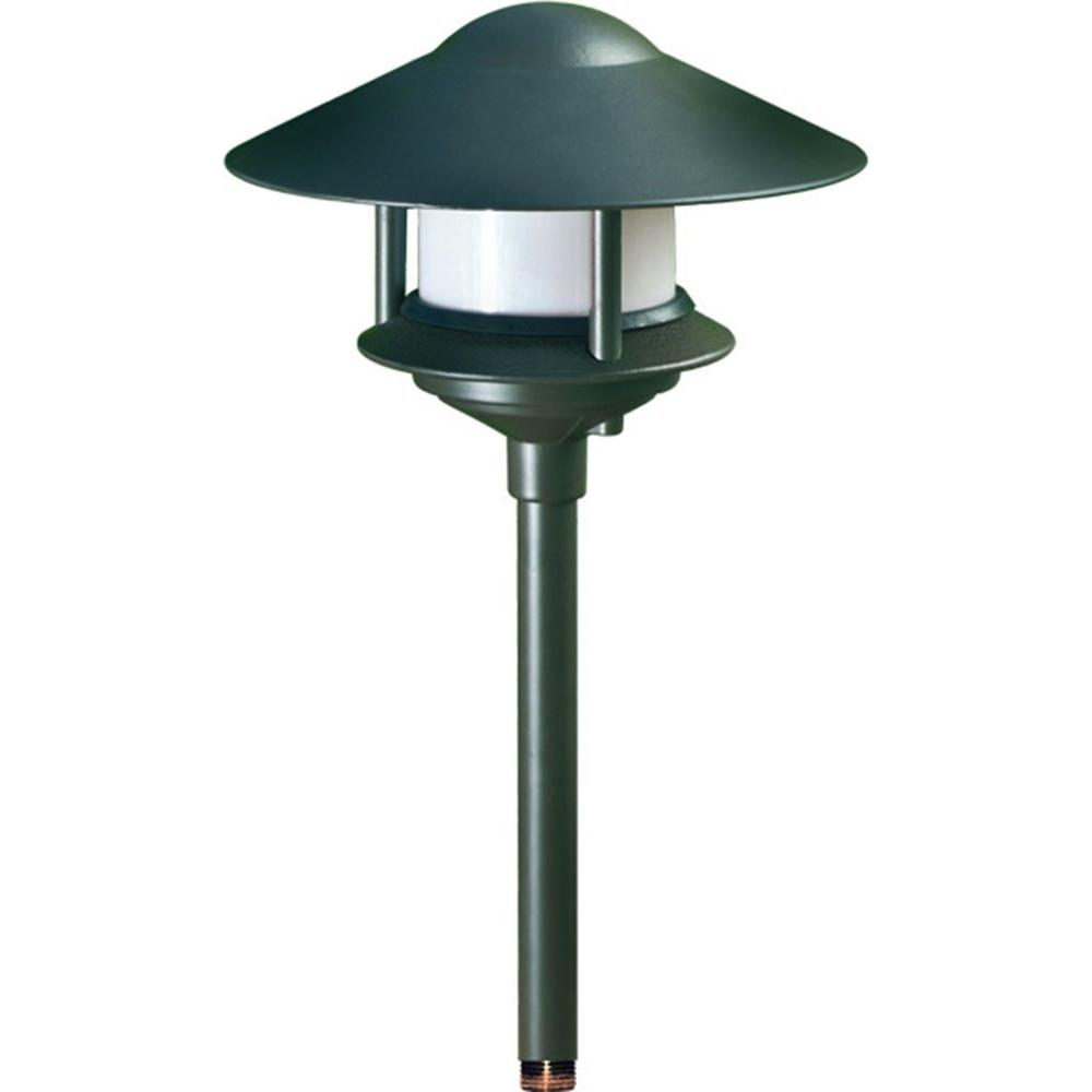 Porch Light Green: Filament Design Corbin 1-Light Green Outdoor Pagoda
