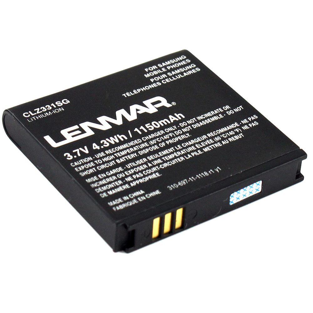 Lenmar Lithium-Ion 1150mAh/3.7-Volt Mobile Phone Replacement Battery