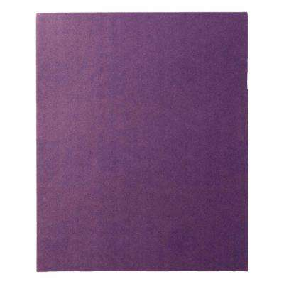 Pro Grade Precision 9 in. x 11 in. 220-Grit Fine Faster Sanding Sheets (Case of 20, 4-Packs)