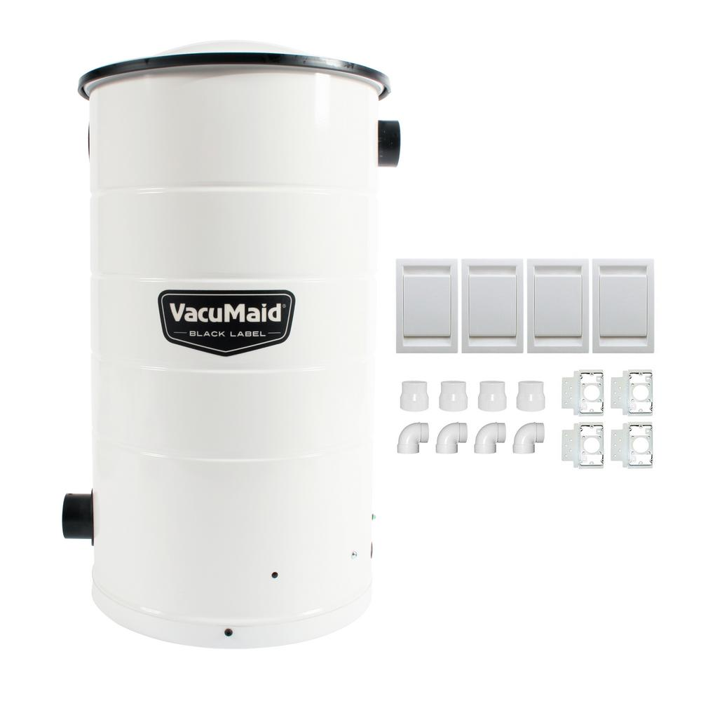 VacuMaid Central Vacuum Power Unit with Installation Kit