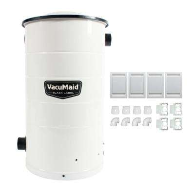 Central Vacuum Power Unit with Installation Kit