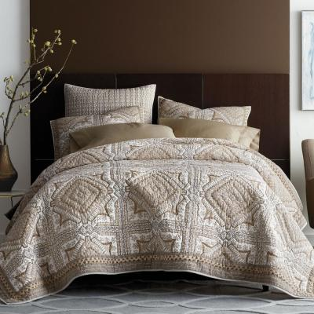 Townsend Geometric Cotton Quilt