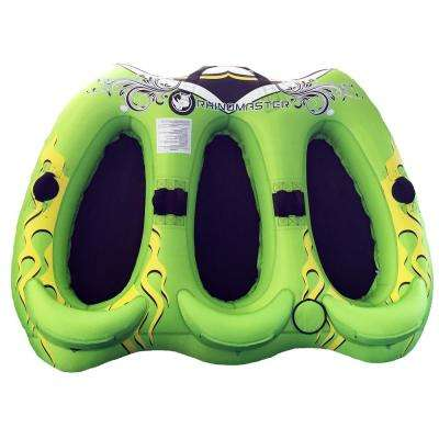 Viperfish 3-Person Inflatable Towable with Rugged Construction for Lake and Ocean Boating