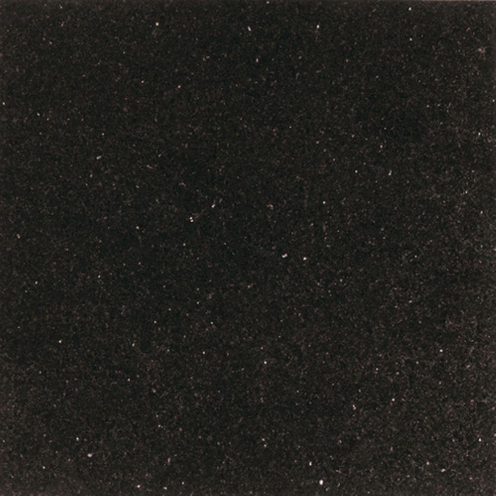 Daltile Galaxy Black 12 In X Natural Stone Floor And Wall Tile