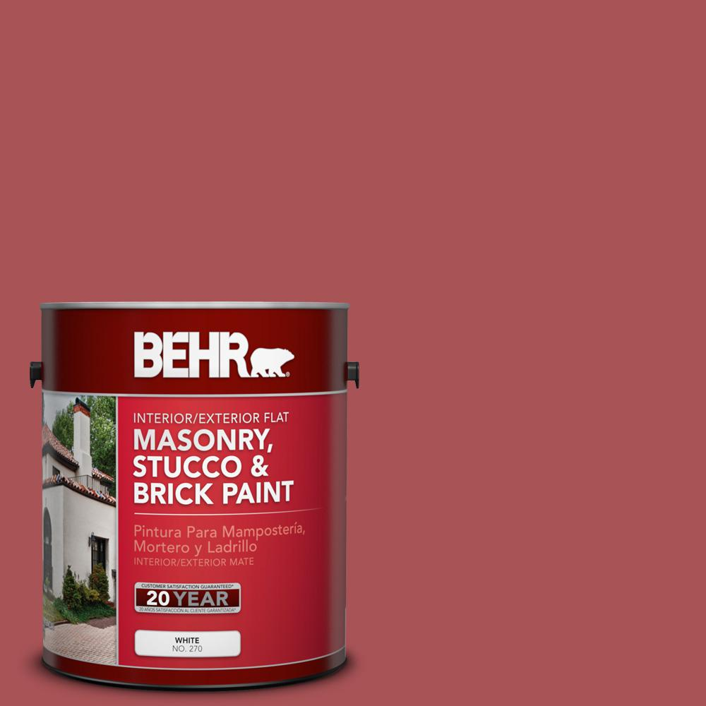 BEHR 1 gal. #M150-6 Lingonberry Punch Flat Interior/Exter...