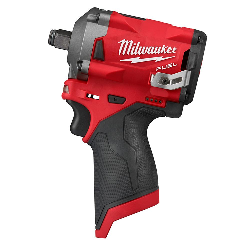 Milwaukee M12 FUEL 12-Volt Lithium-Ion Brushless Cordless Stubby 1/2 in