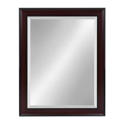Scoop Rectangle Cherry Mirror