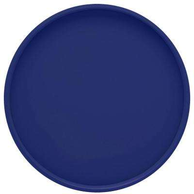 Bartenders Choice Fun Colors 14 in. Round Serving Tray in Royal Blue