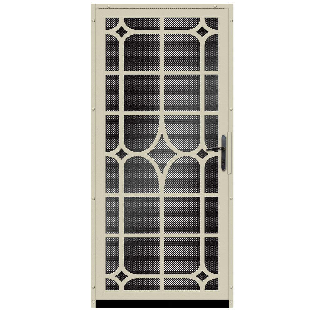 Unique Home Designs 36 In X 80 In El Dorado Black Surface Mount