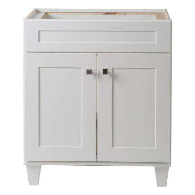 classic white bathroom vanity 30 inch vanities bathroom vanities bath the home depot 17755