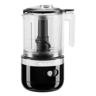 Cordless 5-Cup Onyx Black Food Chopper