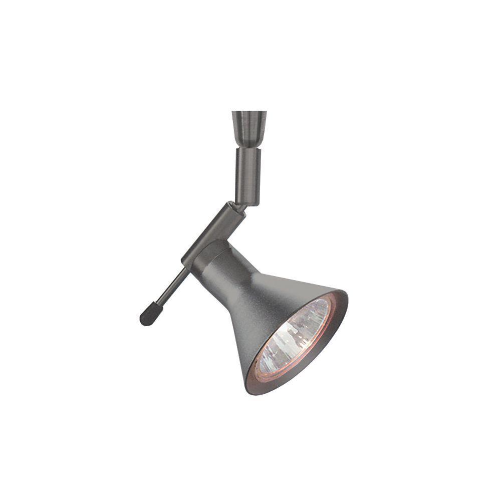 Led Track Lighting Bronze: LBL Lighting Shield Swivel I 1-Light Bronze Silver LED