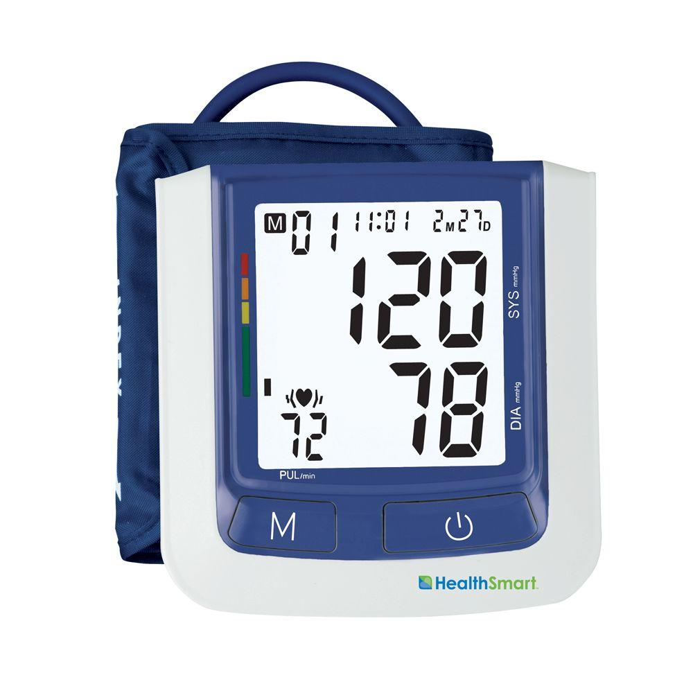 null HealthSmart Select Automatic Arm Digital Blood Pressure Monitor, Large Cuff without AC Adapter