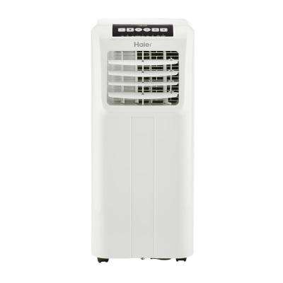 10,000 BTU 115-Volt Portable Air Conditioner with Dehumidifier in White