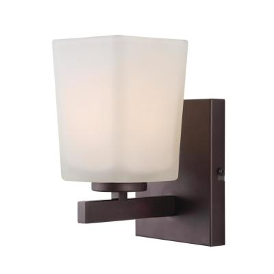 Hartley 1-Light Oil Rubbed Bronze Sconce Light