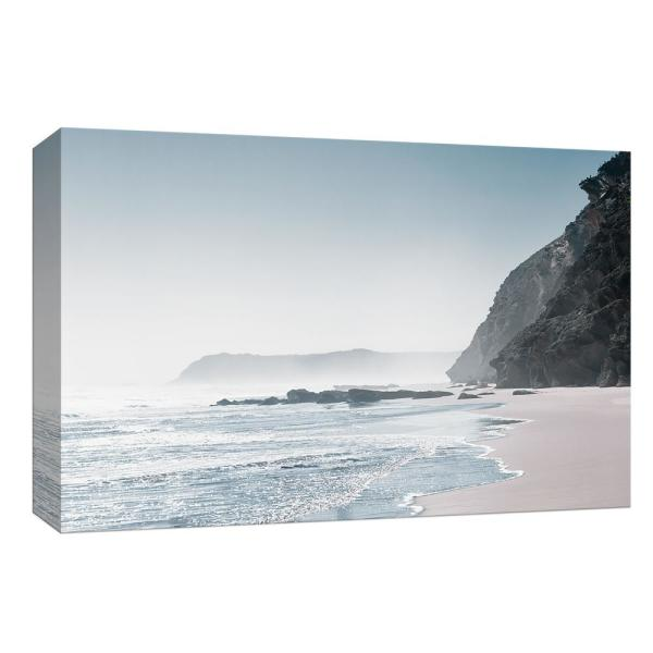 PTM Images 10 in. x 12 in. ''Blue Shore'' By Canvas