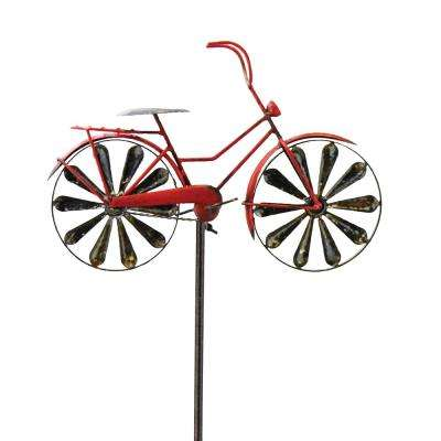 Garden Spinner Bike Red